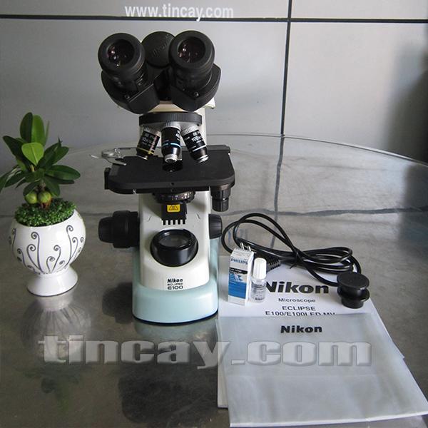 trọn bộ kính hiển vi Nikon E100 LED