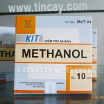 Kit kiểm tra nhanh Methanol (nguyên hộp)