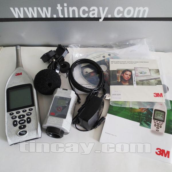 Trọn bộ Máy đo tiếng ồn 3M SE-402