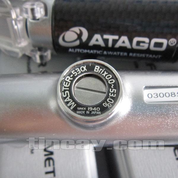 Khúc xạ kế Atago Master 53 alpha (núm điều chỉnh)