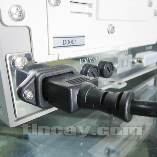 Cân sấy ẩm A&D MX-50 (các cổng kết nối)