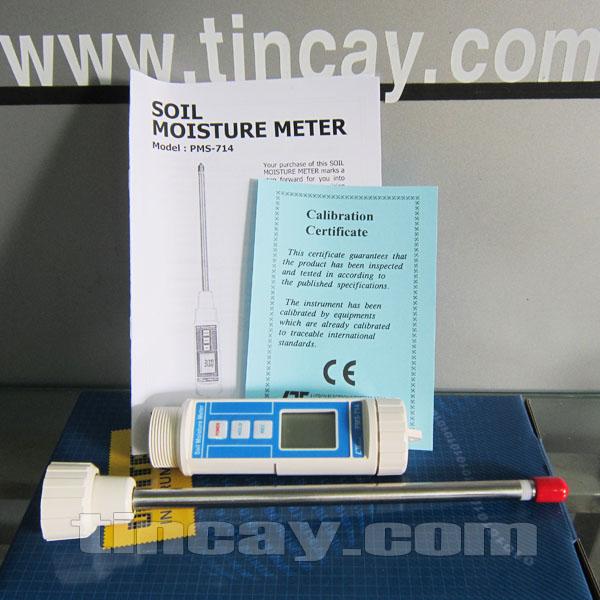 Máy đo độ ẩm đất Lutron PMS-714 (trọn bộ máy)