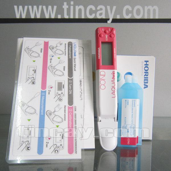 Trọn bộ Bút đo độ dẫn điện Horiba B-771