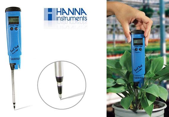 Bút đo EC trong đất Hanna Hi98331