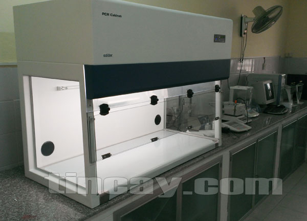 Lắp Tủ cấy vi sinh ESCO PCR-4A1