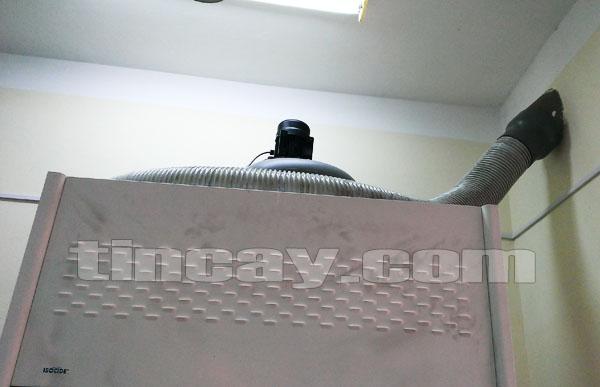 Lắp quạt hút Tủ hút khí độc ESCO EFH-4A8