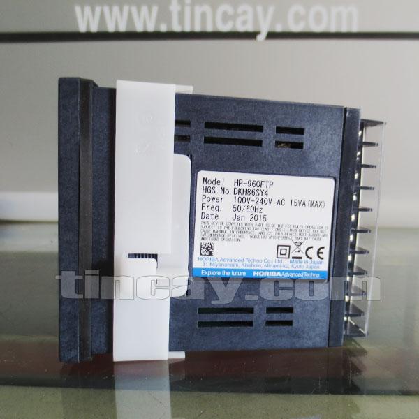 Mặt bên Bộ điều khiển pH online Horiba HP-960FTP