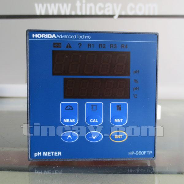 Mặt trước Bộ điều khiển pH online Horiba HP-960FTP