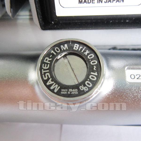 Khúc xạ kế Atago Master 10M (núm điều chỉnh)