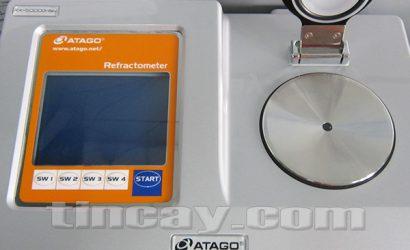 Mặt trên khúc xạ kế Atago RX 5000 alpha BEV