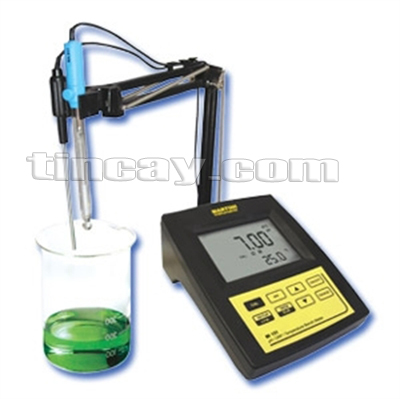 Máy đo pH/mV/ISE/Nhiệt độ để bàn Martini Mi 160