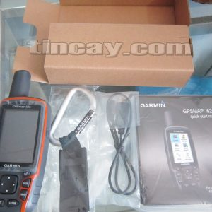 Thiết bị định vị Garmin GPS62s (cung cấp bao gồm)