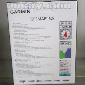 Thiết bị định vị Garmin GPS62s (dạng đóng hộp)