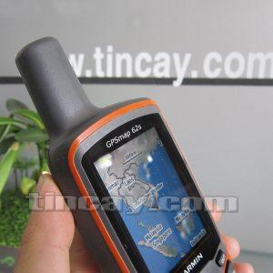 Thiết bị định vị Garmin GPS62s (phần trên và ăng-ten)
