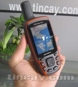 Thiết bị định vị Garmin GPS62s(mặt trước)