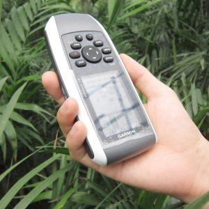 Thiết bị định vị Garmin GPSmap 78 (nhìn nghiêng)