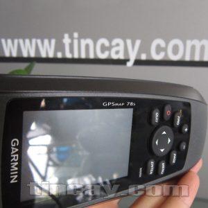 Thiết bị định vị Garmin GPSmap 78s (màn hình và model máy)