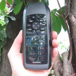 Thiết bị định vị Garmin GPSmap 78s(màn hình chính)