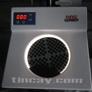 test máy đếm khuẩn lạc Funker Gerber Colonystar