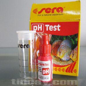 Test pH Sera (ống nghiệm chia vạch)