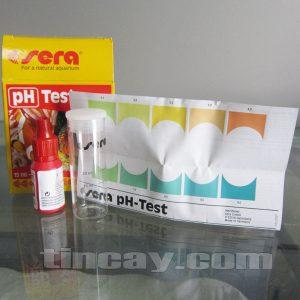 Test pH Sera (bảng màu)