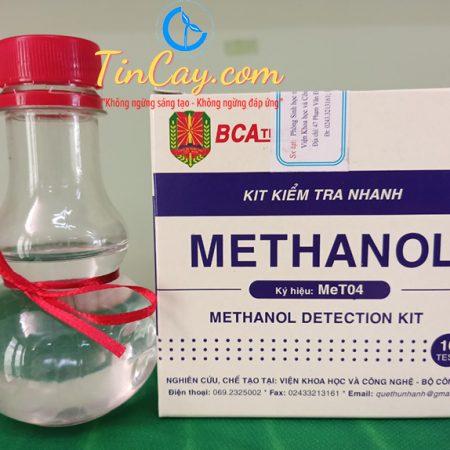 kit kiểm tra nhanh methanol trong rượu - MeT04 của Bộ Công An