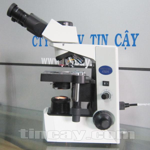 Mặt bên Kính hiển vi Olympus CX 31