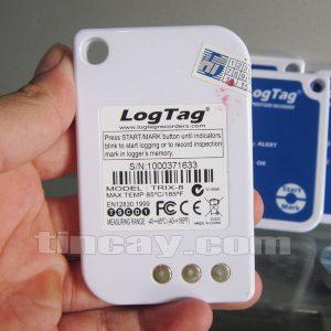 Nhiệt kế tự ghi LogTag Trix 8 (mặt sau)