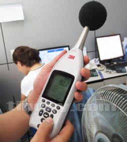 Đo tiếng ồn bằng Máy đo tiếng ồn 3M SE-402