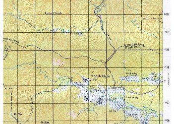 Hình 7: Lưới ô vuông KM ở Bản đồ UTM