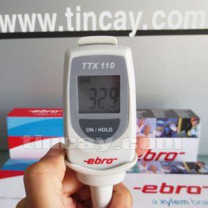 Màn hình Máy đo nhiệt độ điện tử Ebro TTX 110