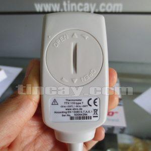 Mặt sau Máy đo nhiệt độ điện tử Ebro TTX 110