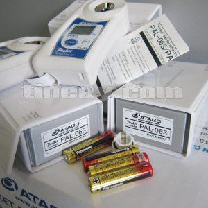 Pin chuyên dụng cho khúc xạ kế Atago Pal-06S
