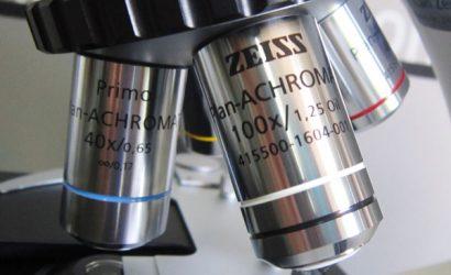 Kính hiển vi 2 mắt Zeiss Primo Star (vật kính)