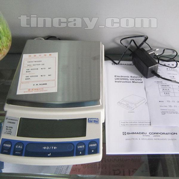Cân điện tử Shimadzu UX 6200H (trọn bộ)