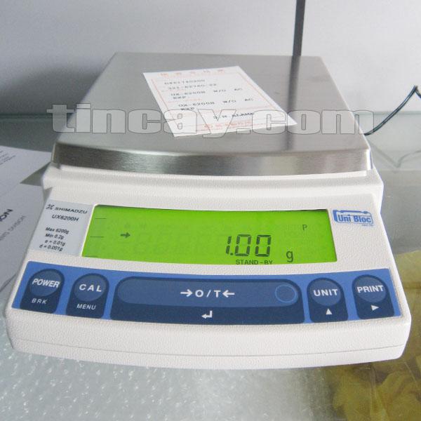 Cân điện tử Shimadzu UX 6200H
