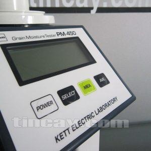 Màn hình máy đo độ ẩm hạt KETT PM-450