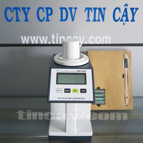 Máy đo độ ẩm hạt KETT PM-450
