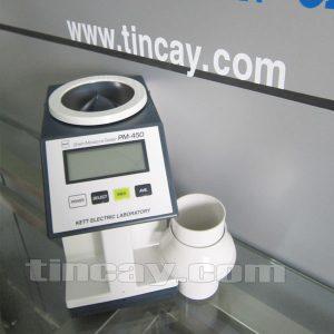 Mặt trên máy đo độ ẩm hạt KETT PM-450