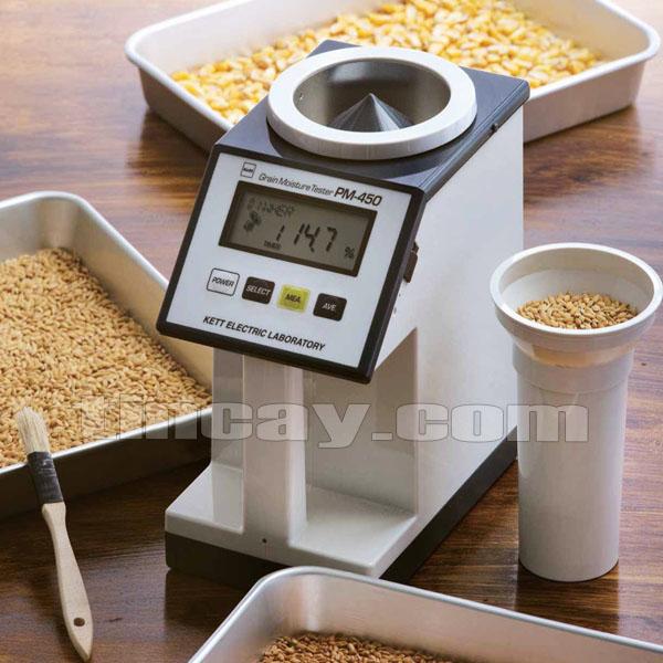 Sử dụng dễ dàng máy đo độ ẩm hạt KETT PM-450