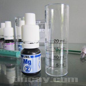 Test Ca, Mg JBL (chai thuốc thử Mg và ống nghiệm chai vạch)