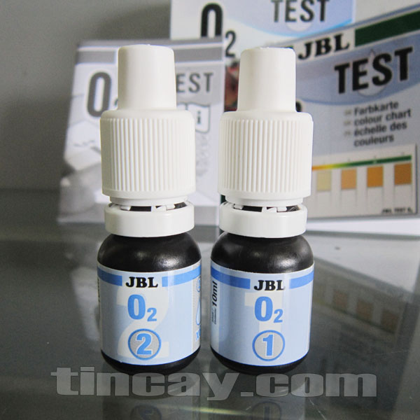 Test O2 JBL (các lọ thuốc thử)