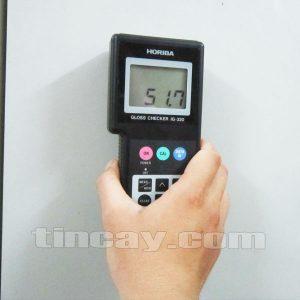 Đo bề mặt kim loại sơn bóng với máy Horiba IG320