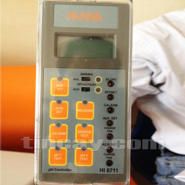 Máy đo pH online Hanna HI 8711