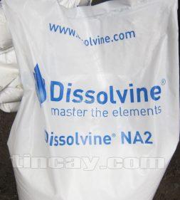 Tên Hóa chất Akzo Nobel EDTA NA2 in trên bao bì