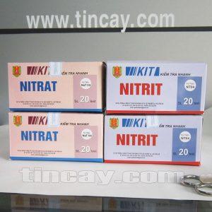 Kit thử nitrit và nitrat Bộ test nhanh an toàn vệ sinh thực phẩm