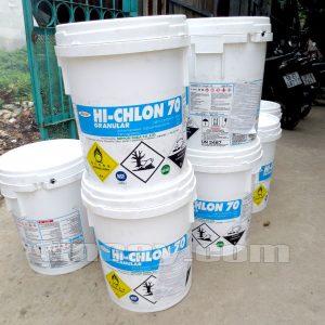 hóa chất khử trùng hồ bơi HI-CHLON70
