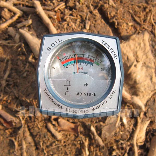 máy đo pH đất DM15 đo đất khô cứng