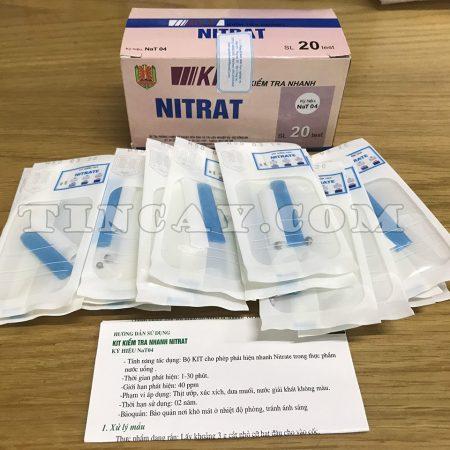 trọn bộ kiểm tra nhanh nitrat của bộ công an