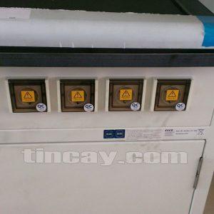 Các cổng kết nối Tủ hút khí độc ESCO EFH-4A8